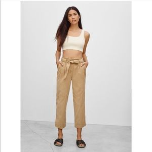 Wilfred Free Paperbag Crop Trousers